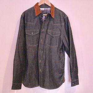 Men's Cactus Chambray Jacket - Size M